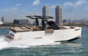 Nuevos barcos a motor en el Salón Náutico de Barcelona